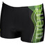 arena Mix Swim Shorts Men black-leaf